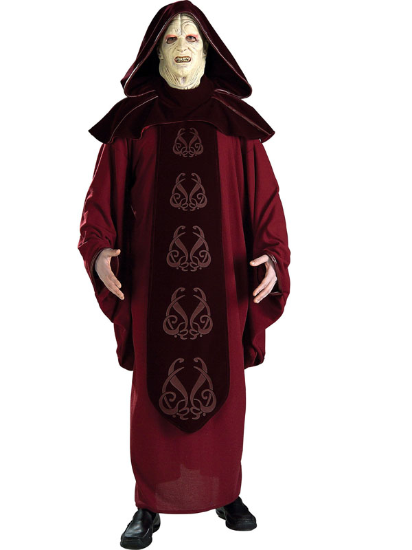 Supreme Emperor Palpatine Star Wars Adult Costume
