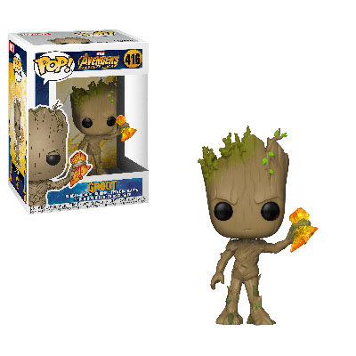 Groot With Stormbreaker Endgame POP! Marvel 416