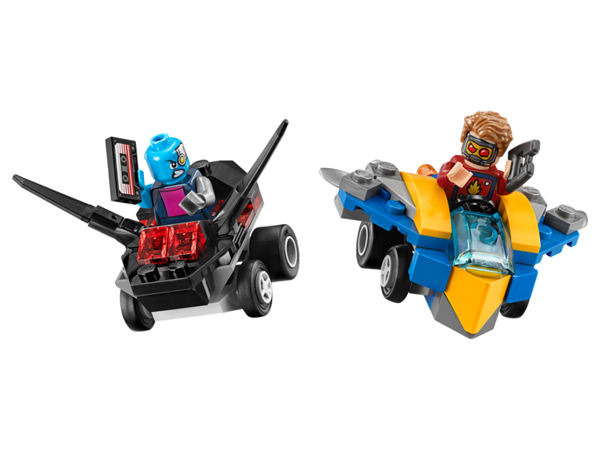 Guardians of the Galaxy Lego - Mighty Micros: Star-Lord vs. Nebula