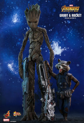 Groot and Rocket Hot Toys