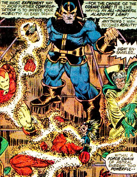 Thanos Chronological Appearances in Marvel Comics: Thanos in Captain Marvel #31