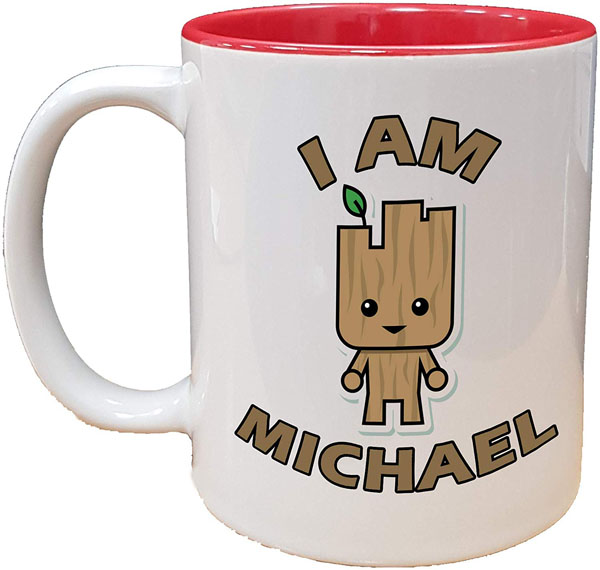 I am Groot Personalised Mug