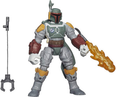 Boba Fett Deluxe Hero Mashers Action Figure by Hasbro