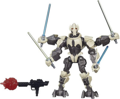 General Grievous Deluxe Hero Mashers Action Figure by Hasbro
