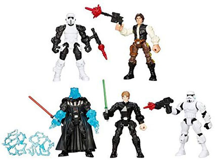 Return of the Jedi Star Wars Mashers Multipack by Hasbro