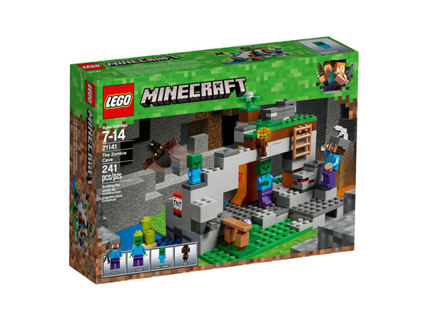 LEGO Minecraft 21141 The Zombie Cave Packaging Box