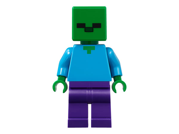 LEGO Minecraft Zombie minifigure