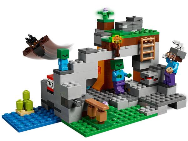 The Zombie Cave - LEGO Minecraft 21141
