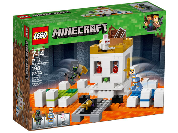 LEGO Minecraft 21145 The Skull Arena Box