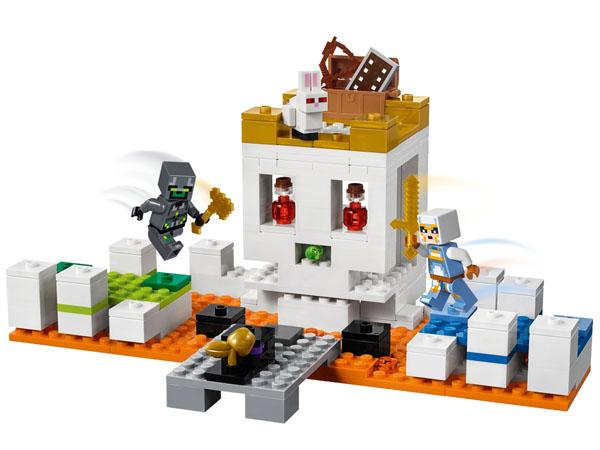 The Skull Arena - LEGO Minecraft 21145