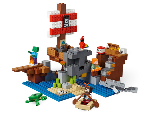 The Pirate Ship Adventure - Minecraft LEGO 21152