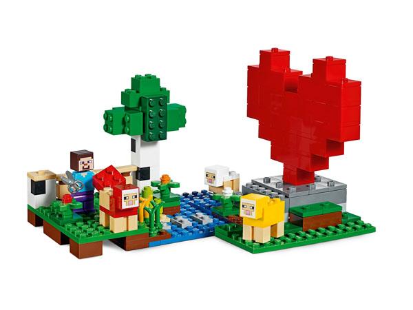 The Wool Farm - LEGO Minecraft 21153