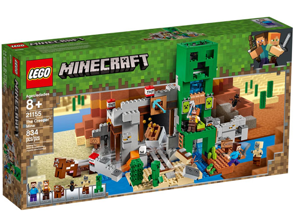 LEGO 21155 Minecraft The Creeper Mine Box