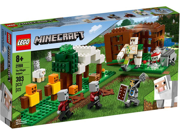 Minecraft LEGO 21159 Set Box