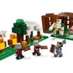 The Pillager Outpost - Minecraft LEGO 21159