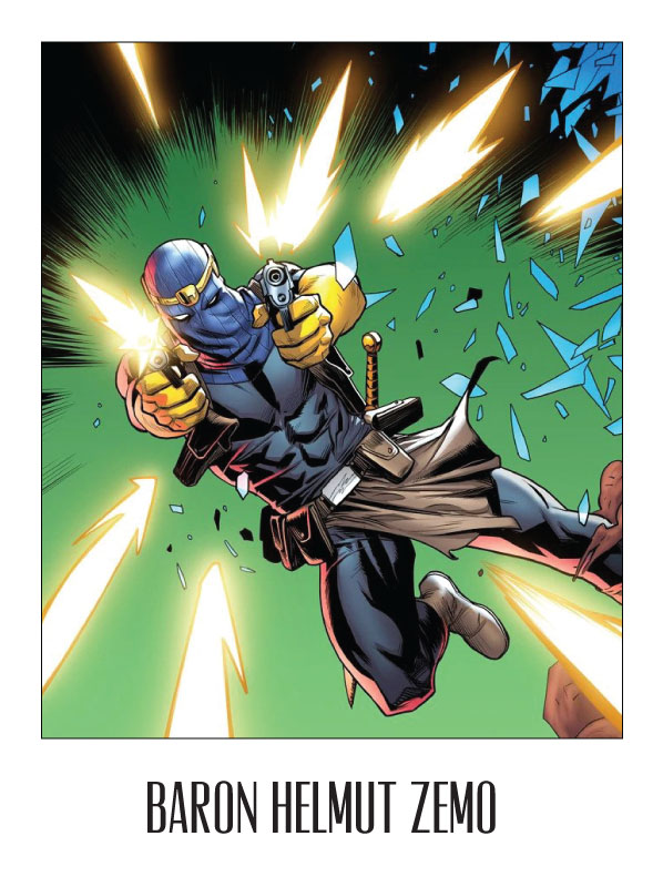 Baron Helmut Zemo from Captain America