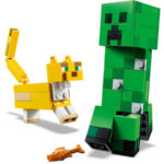 Creeper and Ocelot - Minecraft LEGO 21156