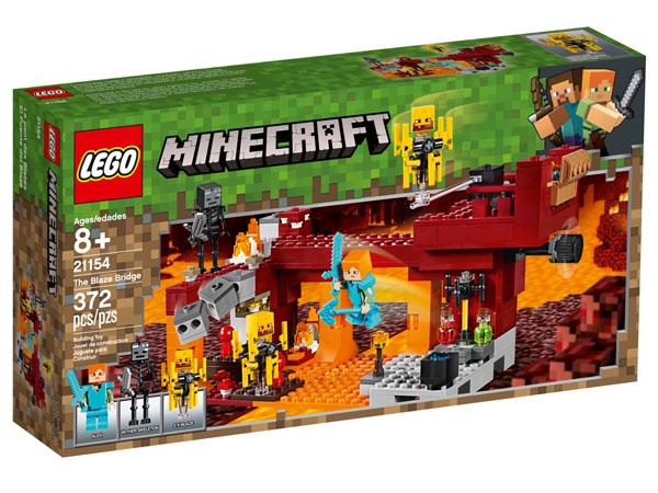 LEGO 21154 Minecraft The Blaze Bridge Box