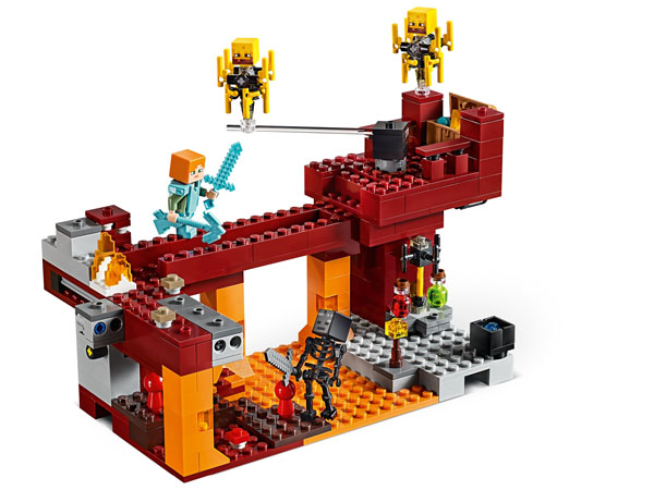 The Blaze Bridge - LEGO Minecraft 21154