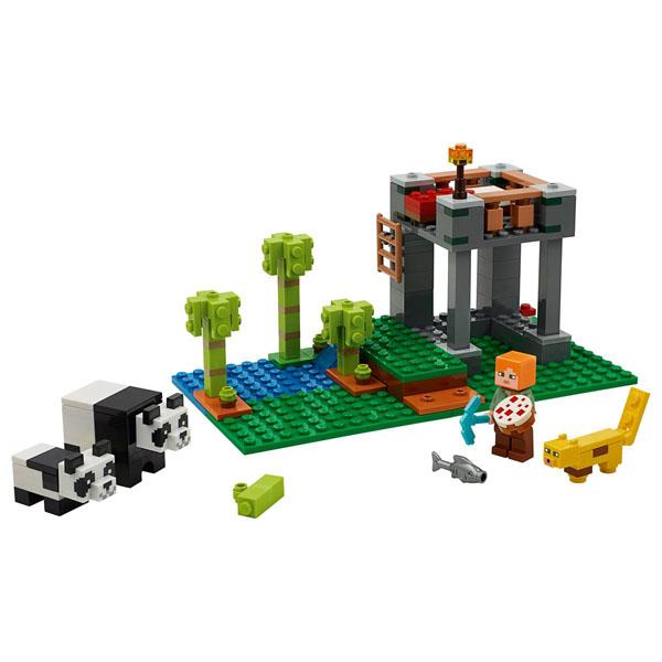 The Panda Nursery LEGO Set