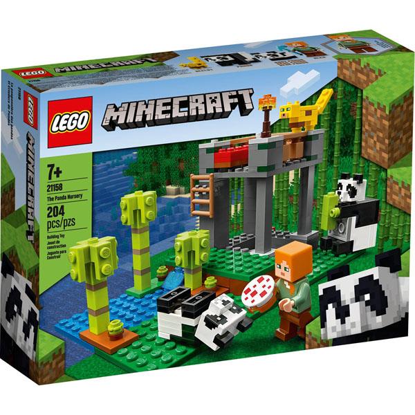 LEGO 21158 Minecraft The Panda Nursery Box