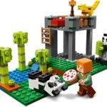 The Panda Nursery - Minecraft LEGO 21158