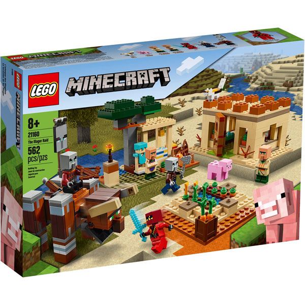 LEGO 21160 Minecraft The Illager Raid