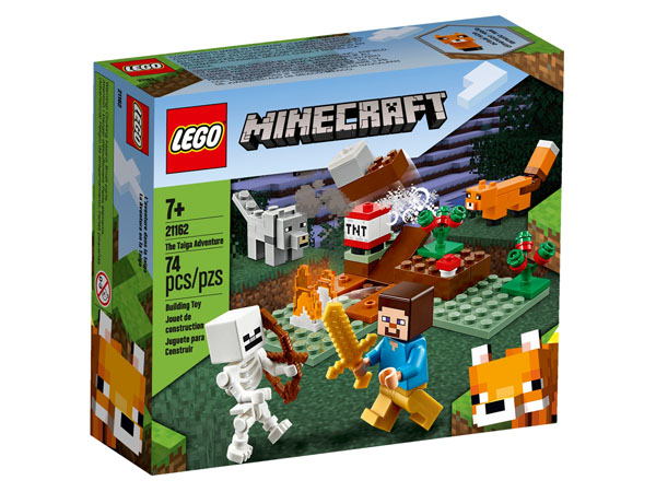 LEGO 21162 Minecraft The Taiga Adventure Box
