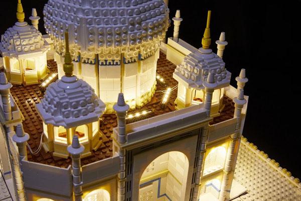 LED Lighting Kit for LEGO Taj Mahal 10256