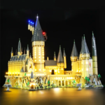 Hogwarts Castle Lego LED Lights