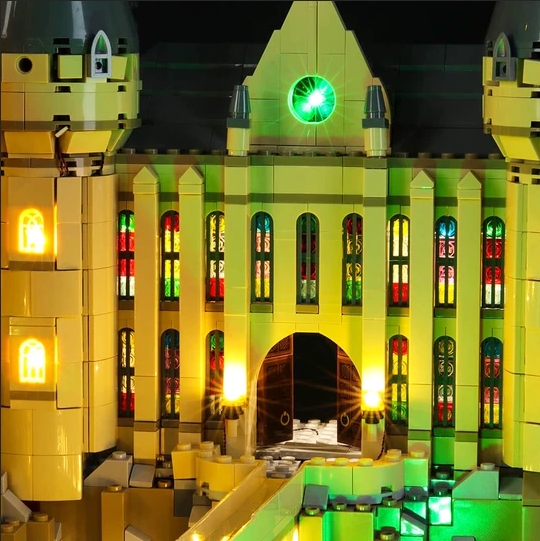 Hogwart's Castle Lego 71043 Coloured Lighting