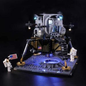 LED Lights For LEGO NASA Apollo 11 Lunar Lander 10266