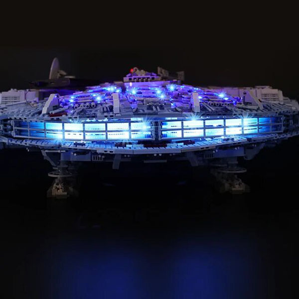 Millennium Falcon Lego LED Lights