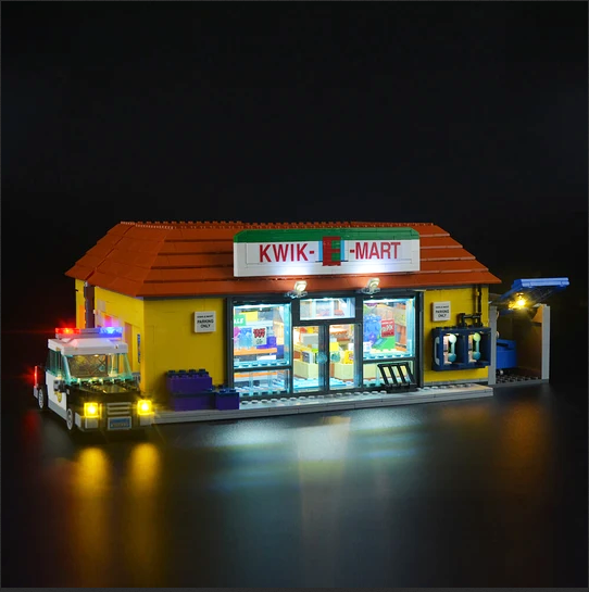 Simpsons LEGO Kwik-E-Mart Lights