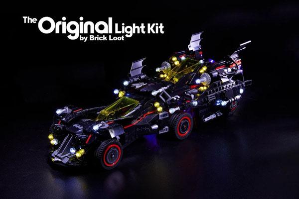 Brick Loot Lighting kit for The Ultimate Batmobile LEGO 70917