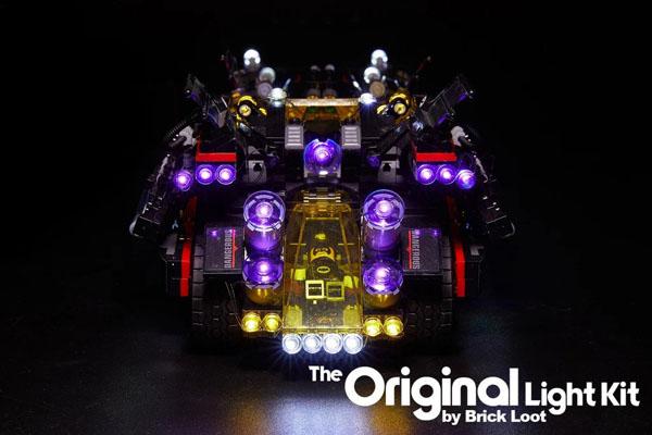 The Ultimate Batmobile Lighting