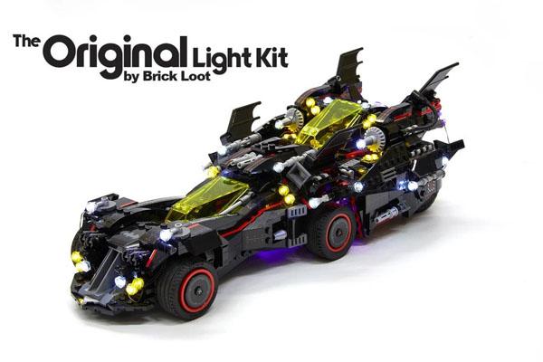 LED Lighting kit for LEGO The Ultimate Batmobile 70917