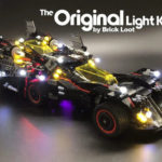 The Ultimate Batmobile LEGO LED Lights