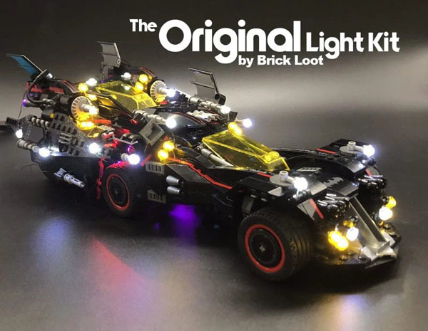 LED Lighting kit for LEGO The Ultimate Batmobile 70917