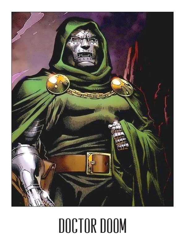 Doctor Doom from the Fantastic Four