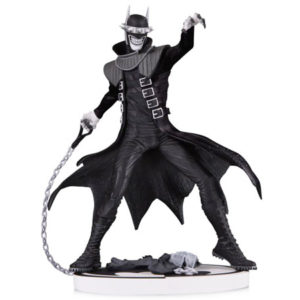 The Batman Who Laughs by Greg Capullo Black And White Statue