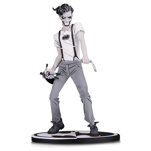 Black and White The White Knight Joker by Sean Murphy Statue