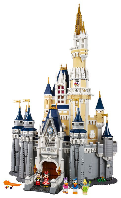 Buy the Lego Disney Castle 71040