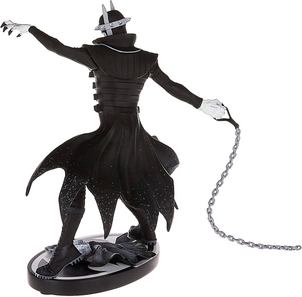 Greg Capullo The Batman Who Laughs Black and White Statue by DC Direct