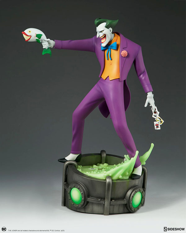 Joker Statue from Batman: The Animated Series