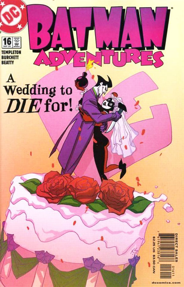 Batman Adventures #16  September 2004 A Wedding to DIE for - The Joker and Harley Quinn get Married