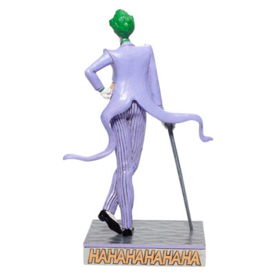 Enesco Joker Statue back