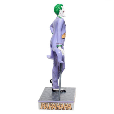 Enesco Joker Statue side