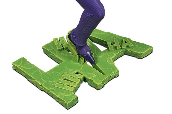 Base of The Joker Statue