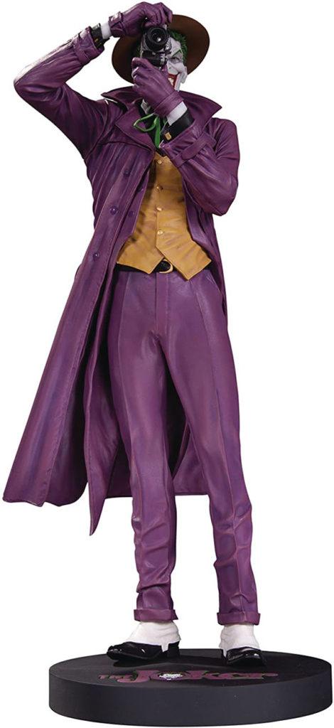 DC Designer Series The Joker Statue from The Killing Joke artwork by Brian Bolland